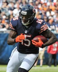 Brandon Marshall  15WR-#Chicago #Bears  Best WR in the #NFL