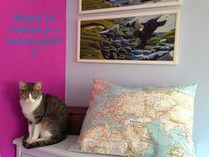 El Gato Mizifú: Tutoriales, como hacer una funda de cojín