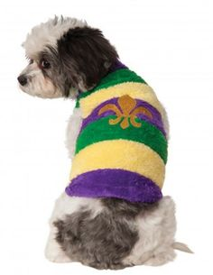 Rubies Costume Company Mardi Gras Soft Pet Sweater, Large - http://www.thepuppy.org/rubies-costume-company-mardi-gras-soft-pet-sweater-large/