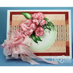 Coral Floral - Heartfelt Creations