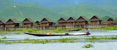 This is Inlay lake,in Myanmar.