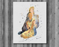 Pocahontas DISNEY Watercolor Print Instant Download Printable You'll receive an 8x10 inch printable INSTANT DOWNLOAD of a wonderfully