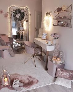 8 ideas for small bedroom if youre on a budget Space saving idea Keep colour to smaller details Neutral colour for walls. Bedroom Decor For Teen Girls, Cute Bedroom Ideas, Girl Bedroom Designs, Room Ideas Bedroom, Small Room Bedroom, Small Rooms, Bedroom Furniture, Nice Rooms, Teen Bedrooms