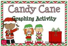 This fun, candy cane taste test graphing activity will help your ...