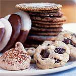 Chocolate Chip Meringues Recipe | MyRecipes.com 1 WW+ point per cookie