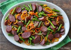 Quick & Healthy Meal in Under 30 - Sausage & Veggies