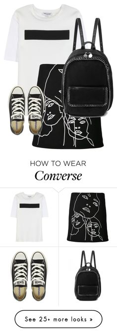 """""""Untitled #10176"""" by alexsrogers on Polyvore featuring Opening Ceremony, STELLA McCARTNEY and Converse"""