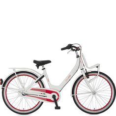 Alpina Bici Da Bambina Clubb 24 Inch 3V Mozzo Freno Bianco/R