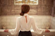 × Pure & so elegant… / #style #ladylike #grace #timeless