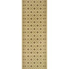 Rivington Vidor Driftwood Ivory Runner Rug (2.7 x 12.0), Brown, Size 2'7 x 12' (Fabric, Oriental)