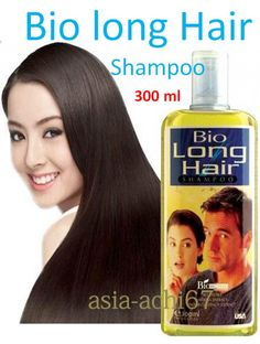300 Ml. Bio Long Hair Treatment Shampoo Natural to Lengthen Grow Longer for sale online   eBay
