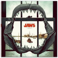 Mondo is releasing John Williams' JAWS score on vinyl and it's a thing of beauty!!! http://www.aintitcool.com/node/78120