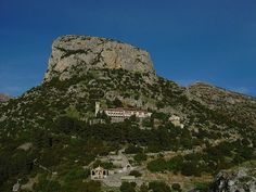 Mount Goulas in Nestani, Greece  Monastery of Panagia Gorgoepikoos which is a protected cultural heritage site