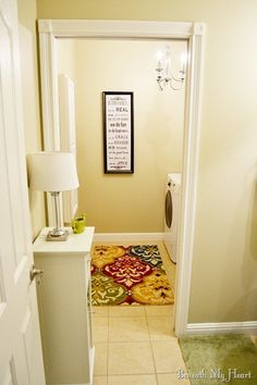 Wall color - Sherwin Williams - Urban Putty. Rug - Home Goods.