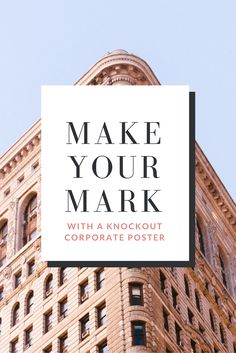 20 Easy Ways to Create a Professional Poster that Goes Above and Beyond [with Free Templates]