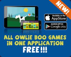 download owlie boo apps for android, iPhone or iPad