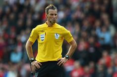 Under-fire official is facing allegations that he racially abused Chelsea players during the game against Manchester United Chelsea Players, Soccer Kits, Watch Football, Stand By You, Referee, Having A Bad Day, Ice Hockey, Premier League, Polo Ralph Lauren