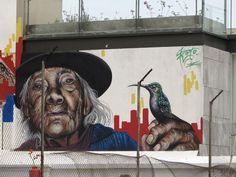 Street Art Quito,Ecuador, 2014
