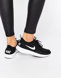 Image 1 of Nike Black & White Juvenate Trainers
