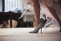 wedding shoe.