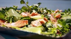 Dusky Trout and Watercress Salad