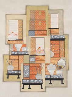 Chinese Element, Korean Painting, Art Sites, Korean Art, Traditional Paintings, Chinese Style, Traditional Design, Designs To Draw, Folk Art