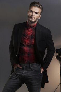 David Beckham stars for H&M 2015 fall campaign.