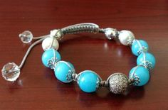 Jewelry Show—Fashion Shamballa Bracelet with Jade BeadsThis...  l love all things sparkly! Check out all the cute sparkly things here: http://fashion.herbestlook.com.