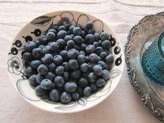 Harmaafuksia: Sinisiä terveellisiä herkkuja tarjolla