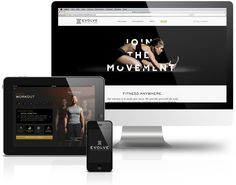 Evolve Functional Fitness digital identity by Doubleday & Cartwright
