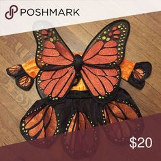 Monarch Butterfly Costume Beautiful monarch butterfly costume by Gymboree, size 5-6 Excellent condition. Gymboree Costumes Halloween