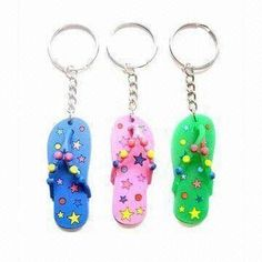 Plastic Keychains, Customized Sizes and Designs are Accepted, Suitable for Promotional Purposes