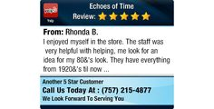 I enjoyed myself in the store. The staff was very helpful with helping, me look for an...