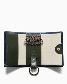 Whitehouse Cox | S9692 KEY CASE WITH RING / BRIDLE 2TONE