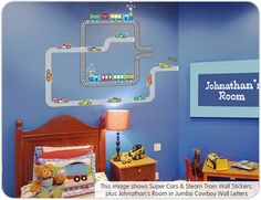Cars Wall Stickers for Cool Boys Rooms