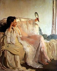 Sir William Orpen (1878 - 1931) - The Eastern Gown