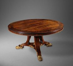 Early Regency Rosewood Centre Table in Centre Tables from Christopher Hodsoll