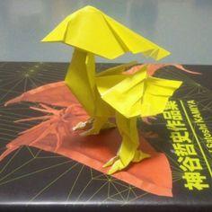 """""""神谷哲史作品集 黄色い鳥  #ORIGAMI #origamist #origamiart  #peperfolding #peperart #yellowbird #yellow #bird#satoshikamiya #ff #折り紙#折紙#おりがみ#オリガミ #神谷哲史 #黄色い鳥 #黄色 #鳥#とり#トリ#チョコボ#ちょこぼ #ファイルファンタジー #きいろ#キイロ#chocobo"""" Photo taken by @mikeneko_mikeko on Instagram, pinned via the InstaPin iOS App! http://www.instapinapp.com (04/10/2015)"""