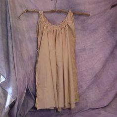 tan dress for voo doo doll costume