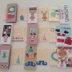 Christmas' Cards #scrapbook #christmascards # christmas #silhouette #cartoesdenatal