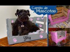 Chuladas Creativas :: Cama para Mascota :: Manuealidades - YouTube