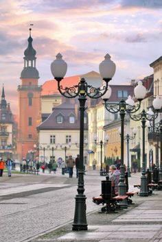 Cieplice Promenade, Jelenia Gora district, Poland