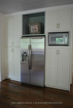 Paint is Ben Moore Mascarpone VREELAND ROAD: Before and After: Client Kitchen Reveal