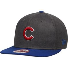 Chicago Cubs New Era MLB Wrigley Field Graphite 9FIFTY Structured Hat - Heathered Gray - $29.99
