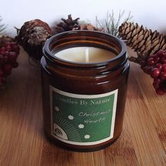 Christmas Home Fragrance CHRISTMAS HEARTH by candlesbynature