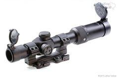 US Optics SR8 1-8x30mm and LaRue QD Scope Mount.