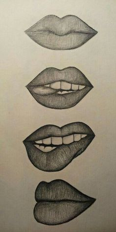 Amazing Lip Drawing Ideas & Inspiration Need some drawing inspiration? - Amazing Lip Drawing Ideas & Inspiration Need some drawing inspiration? Well come to - Cool Art Drawings, Pencil Art Drawings, Art Drawings Sketches, Easy Drawings, Drawings Of Lips, Horse Drawings, Amazing Drawings, Images Of Drawings, Cool Drawing Designs