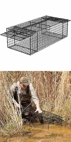 Trapping Supplies 71108: Comstock Double Door Beaver Trap -> BUY IT NOW ONLY: $266.5 on eBay!