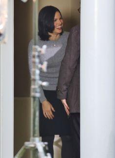 Lana on set 22nd October (filming episode 9)