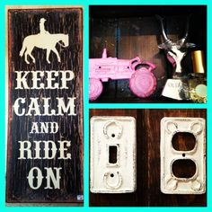 New cute gifts in today! #keepcalmandrideon #cowgirl #tractor #bottleopener #gifts ♥